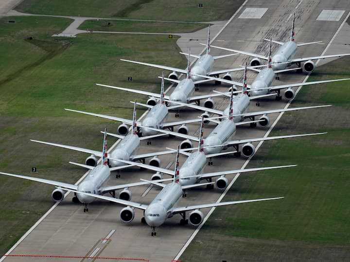 American Airlines planes grounded in Tulsa, Oklahoma, Nick Oxford, Reuters