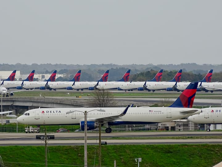 Delta Air Lines planes grounded in Atlanta, Georgia, Ben Bearup
